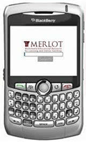 MERLOT app for Blackberry