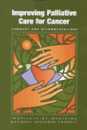 book cover Improving Palliative Care for Cancer
